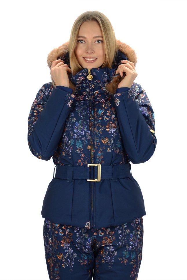 c4b0542c Куртка Stayer горнолыжная Vesta синий/узор купить в интернет ...