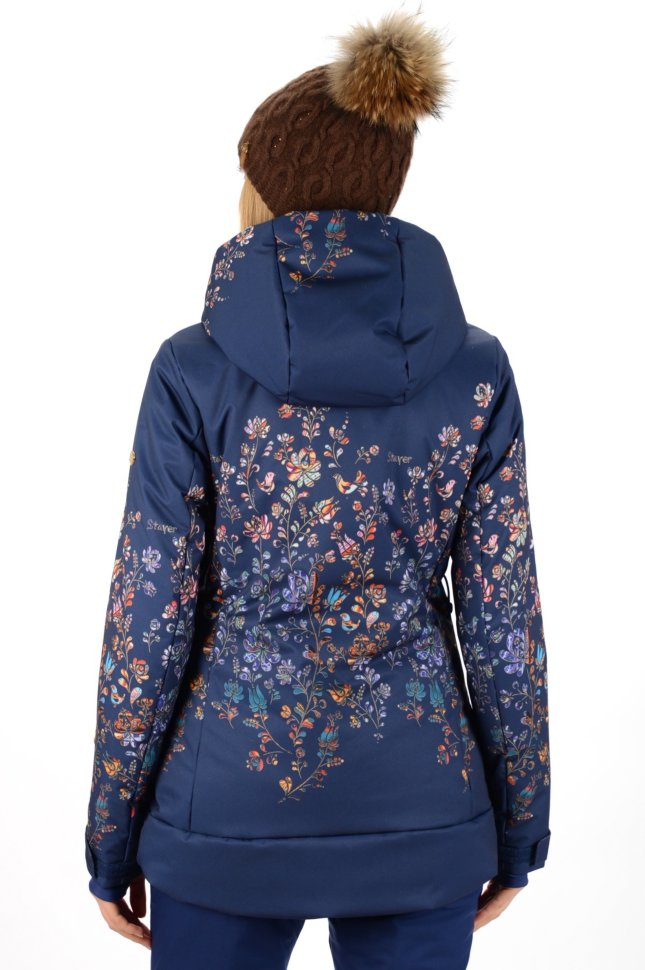 890fc029 Куртка Stayer горнолыжная Virin синий/узор купить в интернет ...